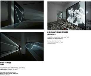 Anthony McCall Goes Face to Face