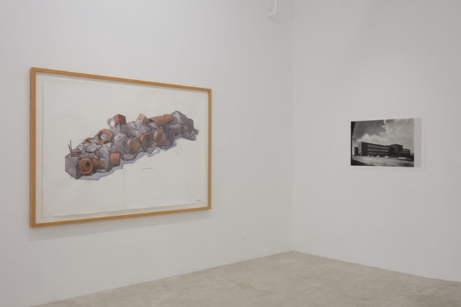 Installation view, Trish Clark Gallery 2017
