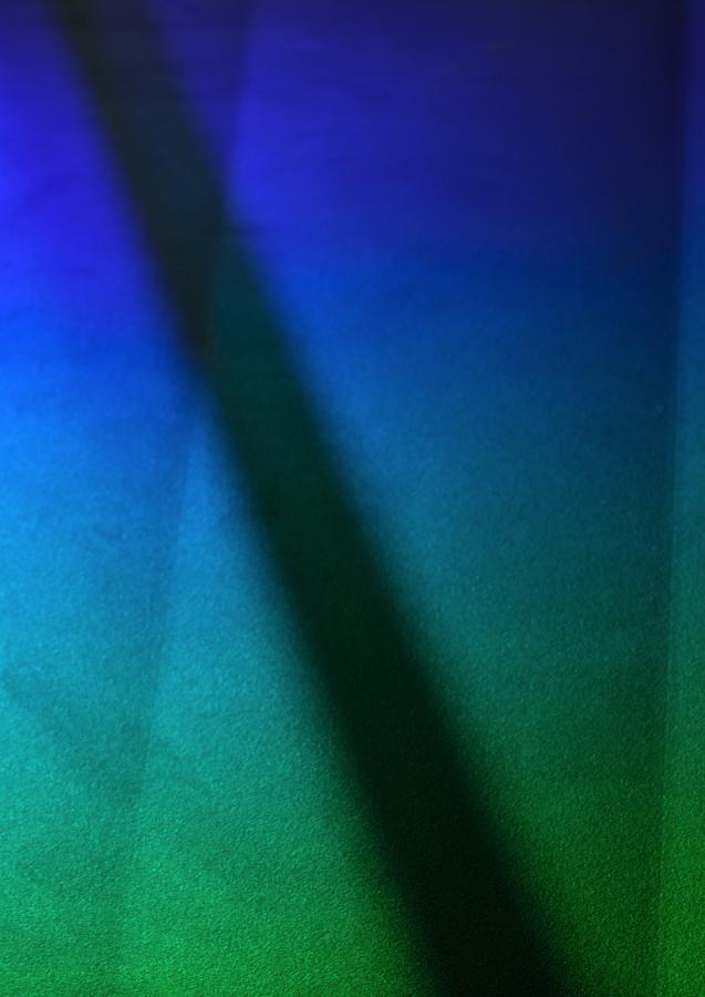 Blue to Green — colour studies I (III)